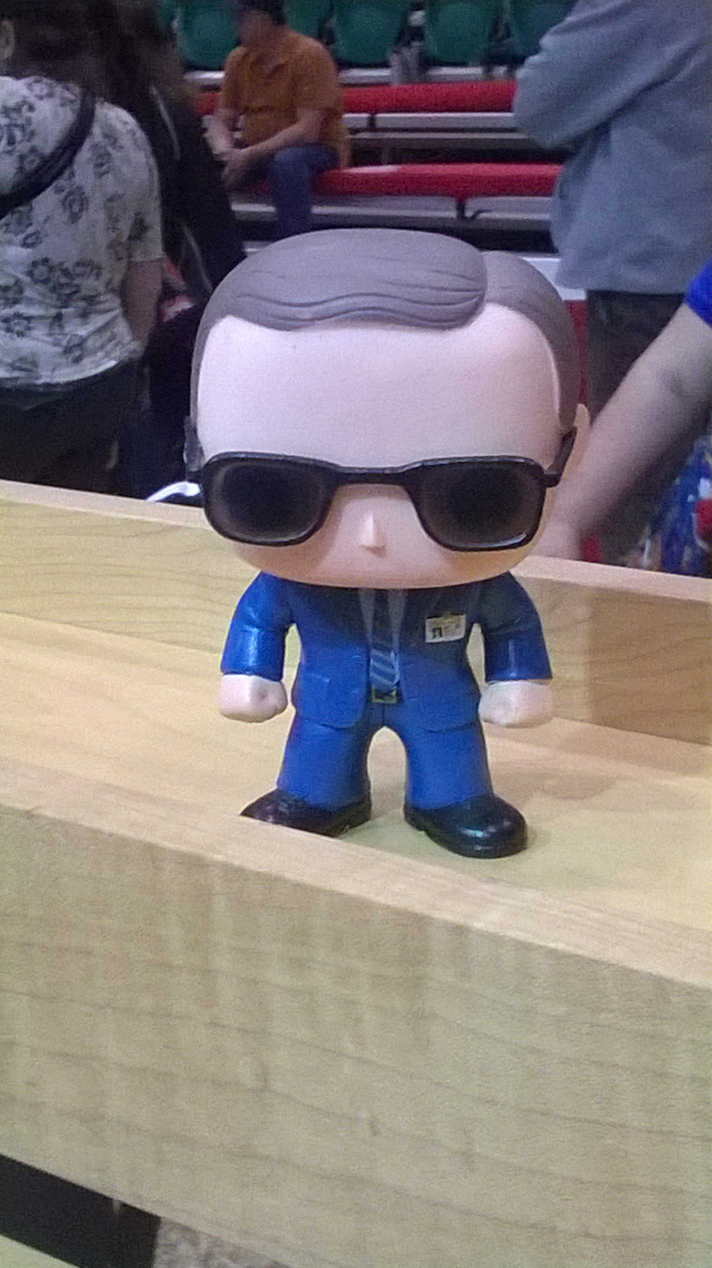 Our mascot, Bobble!Coulson